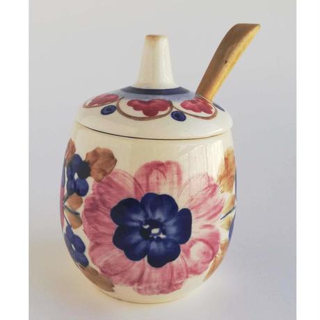 ヴウォツワヴェク陶器 シュガーポット #3512