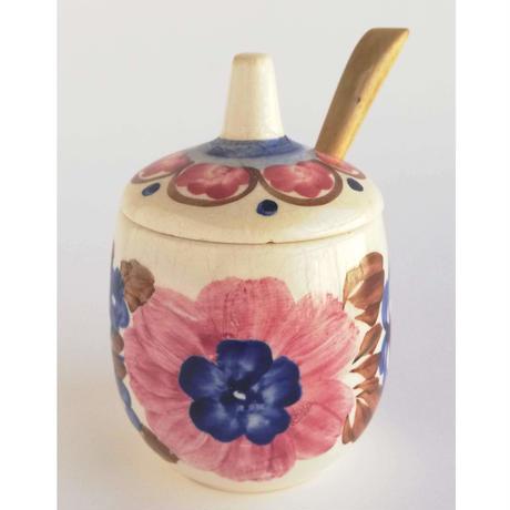ヴウォツワヴェク陶器 シュガーポット #3515