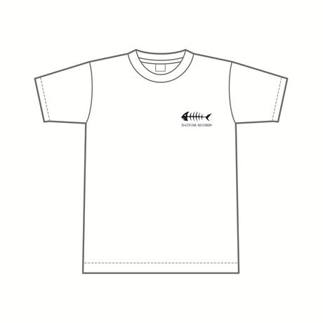 レーベルロゴ Tシャツ [カラー:ホワイト]