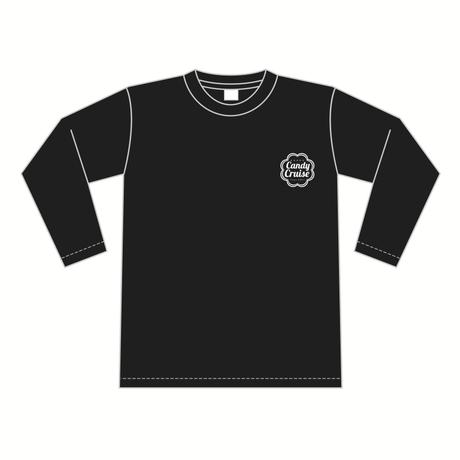 Candy Cruiseロゴ ロングスリーブTシャツ [カラー:ブラック]