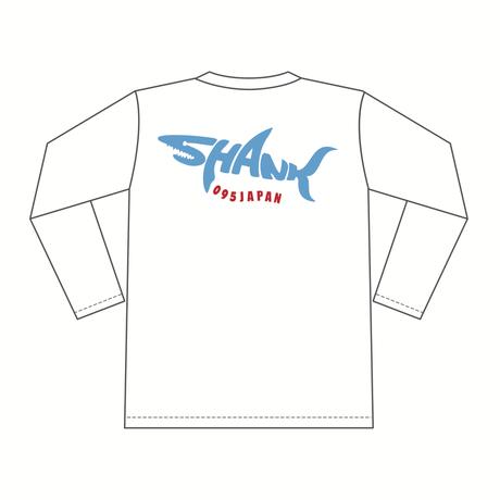 SHARKロゴ ロングスリーブTシャツ [カラー:ホワイト]
