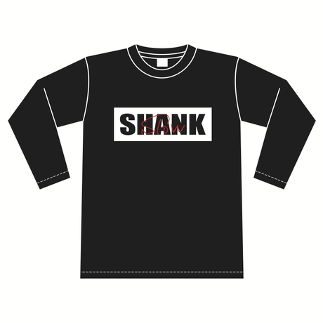 """""""SLOW"""" BOXロゴ ロングスリーブTシャツ [カラー:ブラック]"""