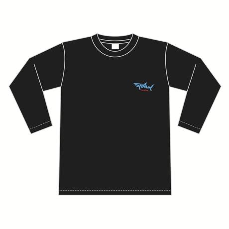 SHARKロゴ ロングスリーブTシャツ [カラー:ブラック]