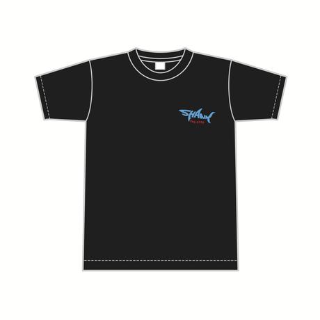 SHARKロゴ Tシャツ [カラー:ブラック]