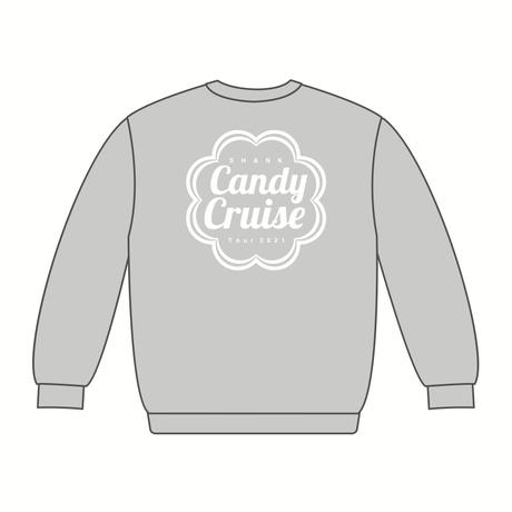 Candy Cruiseロゴ スウェット [カラー:グレー]