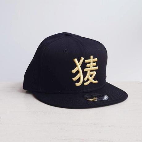 BakEra バクロゴキャップ Black × Gold【NewEra 9 FIFTY】