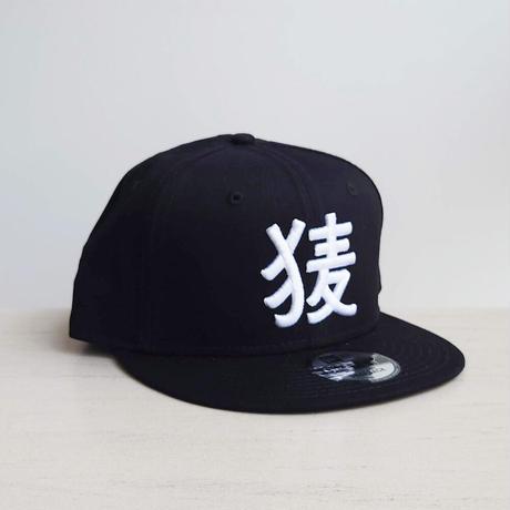 BakEra バクロゴキャップ Black × White【NewEra 9 FIFTY】