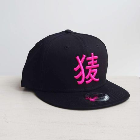 BakEra バクロゴキャップ Black × Pink【NewEra 9 FIFTY】
