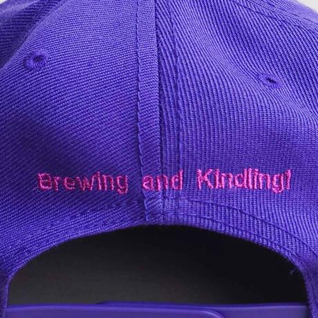 BakEra バクロゴキャップ Purple × Pink【OTTO Snap】