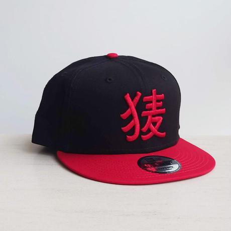 BakEra バクロゴキャップ Black × Red【NewEra 9 FIFTY】