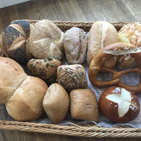 おまかせセット① 小型ドイツパン13個前後詰合せ【本州限定】