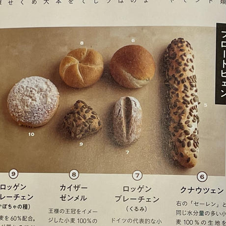 趣味どきっ『おうちで幸せパン』掲載セット