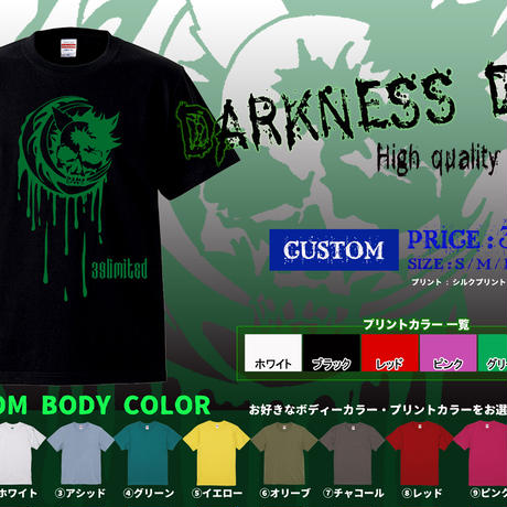 <39limited> DARKNESS DOG High quality T-SHIRT