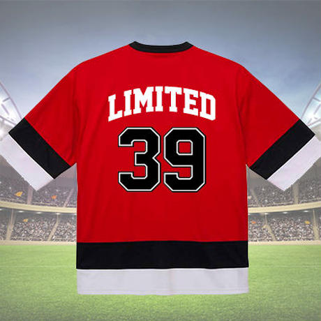 《39limited》OVER LIMIT  HOCKEY T-shirt