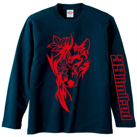 <39limited> Tribal KAGURA Long sleeve T-shirt