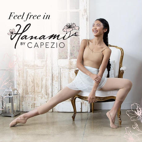 Capezio バレエシューズ HANAMI 2037W