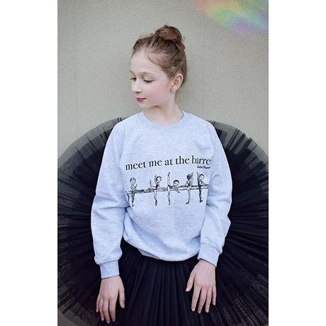 PULLOVER AT THE BARRE KIDS(キッズサイズ・単品)