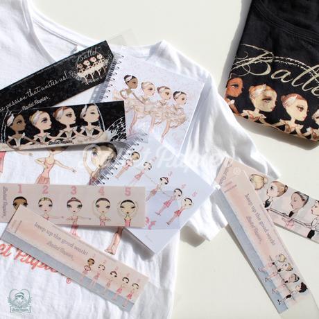 Bookmarks・しおり 'Ballet Papier'(税込価格:¥518)