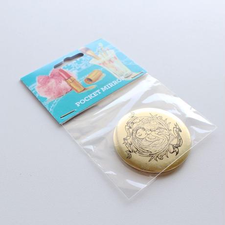 【訳ありセール】ポケットミラー(PAVLOVA 税込定価:¥756)MAP01