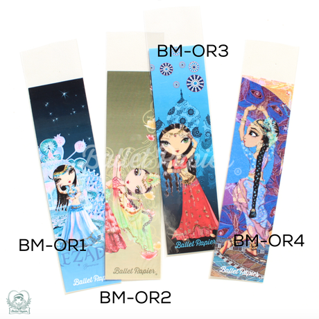 Bookmarks・しおり 'Dance Kingdom'(税込価格:¥ 518)