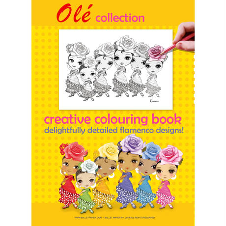 Coloring Book・ぬりえ3冊セット(本体価格:¥2,040)