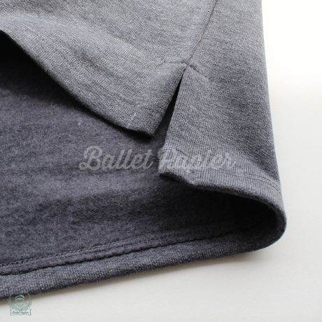 CROPPED PULLOVER  'SILVER DANCE MOOD'