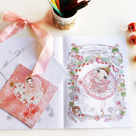THE NUTCRACKER COLORING BOOKS・ぬりえ