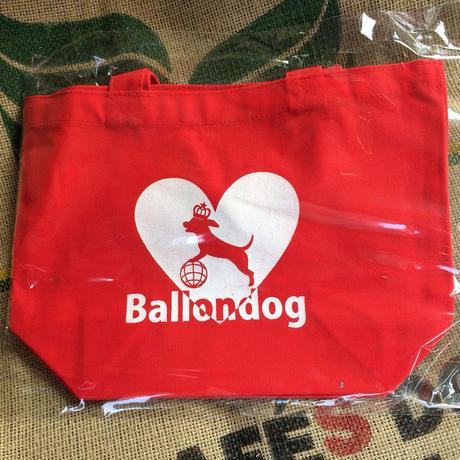 Ballondog ロゴ入り トートバッグ(Red)
