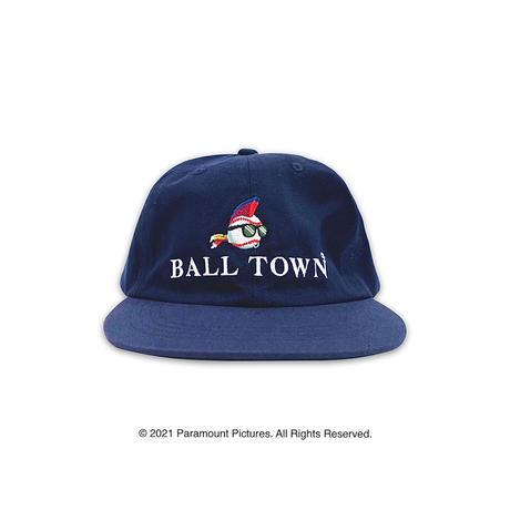 BALL TOWN × major LEAGUE cap【Navy】