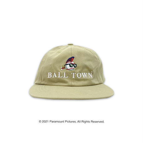 BALL TOWN × major LEAGUE cap【Beige】
