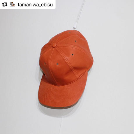 POTEN × BALL TOWN ALL LEATHER CAP 【COP】