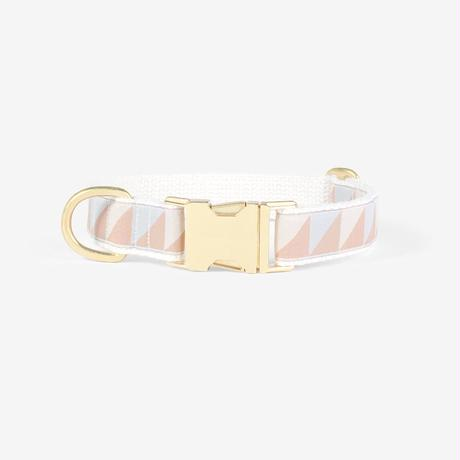 SEE SCOUT SLEEP Standard Collar S -Nice Grill- (Ice Blue x Camel x Ivory)