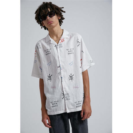 Afends BENI hemp cuban shirt
