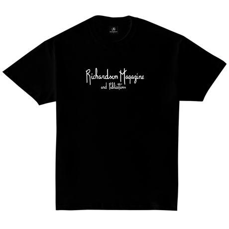 RICHARDSON MAGAZINE AND PUBLICATIONS EMBROIDERED T-S