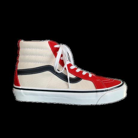 Vans  SK8-HI 38 DX  (RED/ WH/BLK)