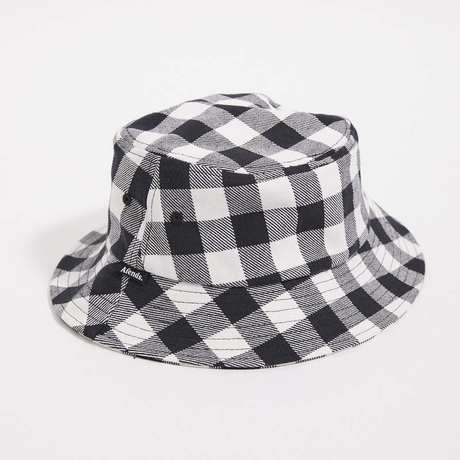 Afends Reality Gingham Bucket Hat