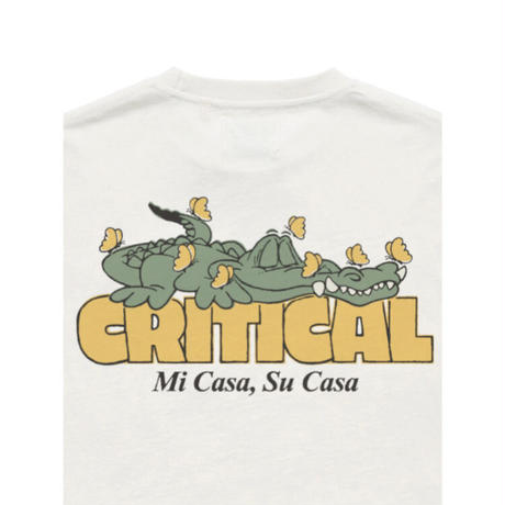 CRITICAL SLIDE MI CASA TEE