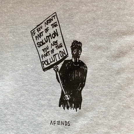 Afends Doom Future over size  Tee