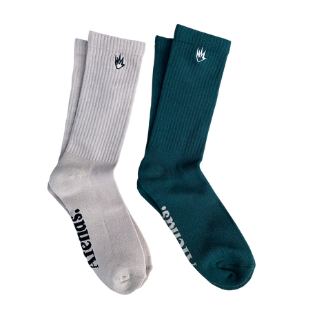 Flame Socks 2 Pack