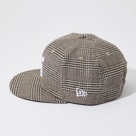 バ 9FIFTY CAP(BRN check)