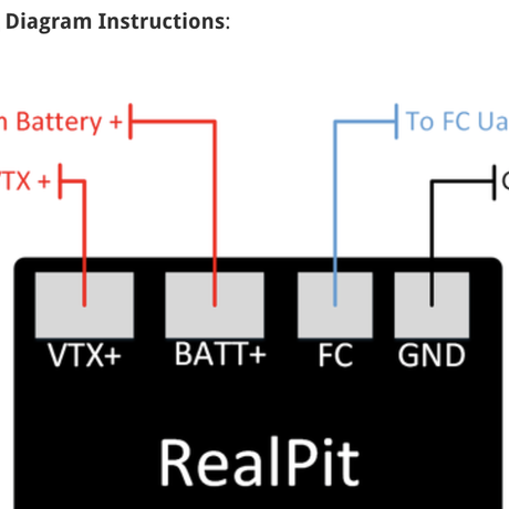 RealPit VTX Power Switch