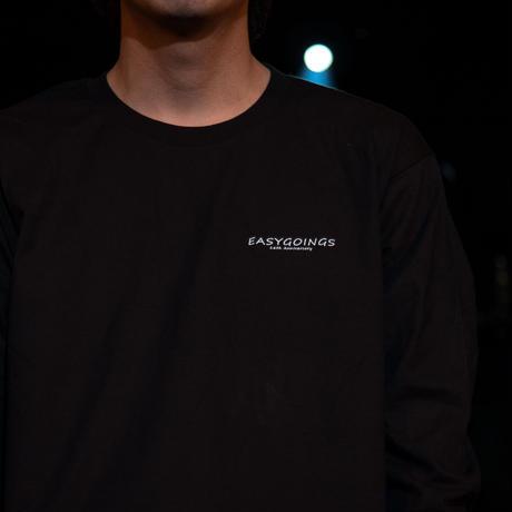 EASYGOINGS 16th anniversary【ロングTシャツ】ブラック