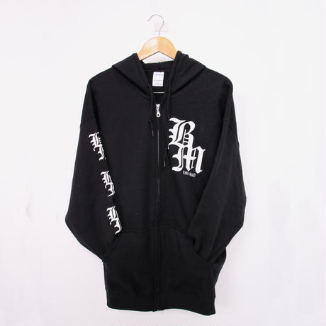 deathsight×BAND MAID ZIP UP HOODIE