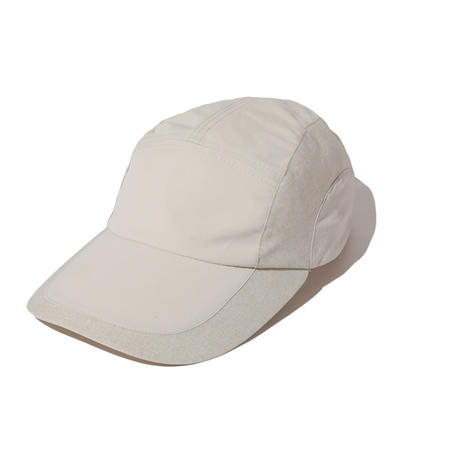 NYLON CHAMBRAY CAP (BEIGE)
