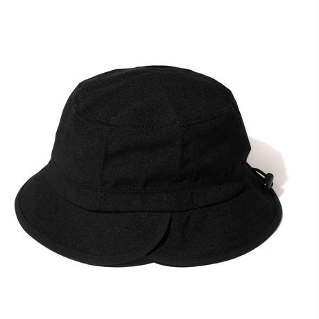 NYLON CHAMBRAY HAT (BLACK)