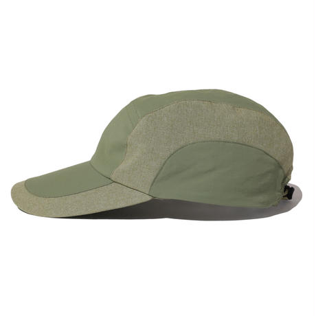 NYLON CHAMBRAY CAP (OLIVE)