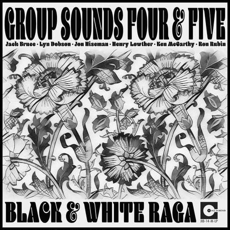 予約 - GROUP SOUNDS FOUR & FIVE / BLACK & WHITE RAGA [LP]