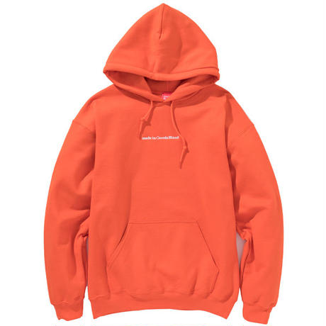 made in Cocolo Bland HOOD (ORANGE)