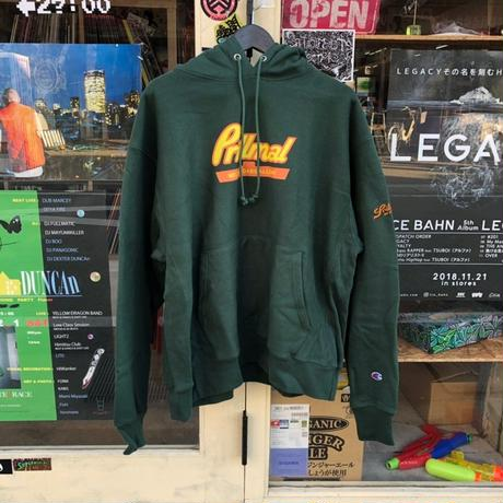 PEANUT BUTTER!! HOOD SWEAT (GREEN)