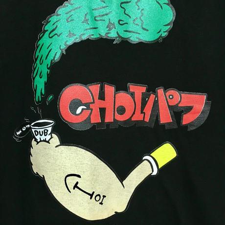 CHOIパフ TEE (BLACK)